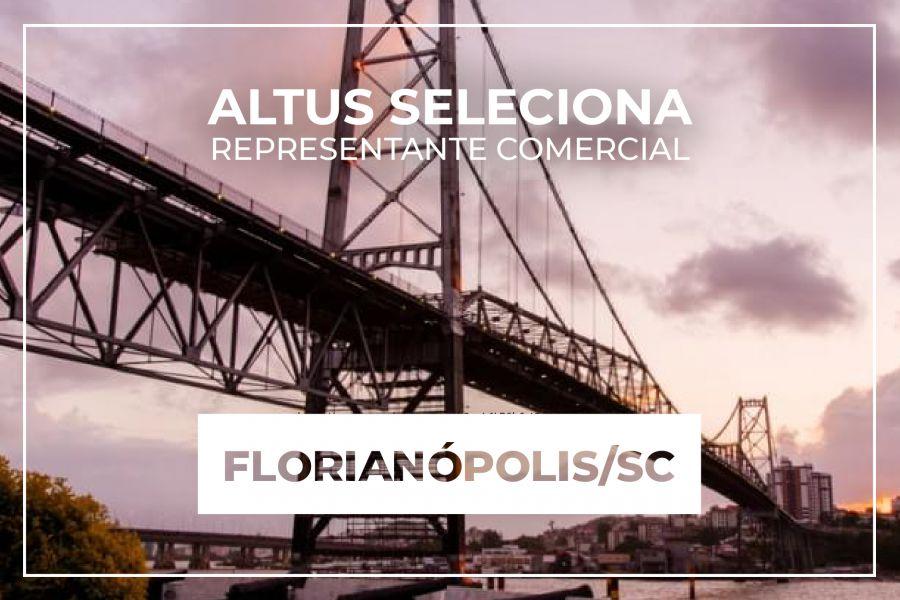 Oportunidade para representação comercial na região de Florianópolis/SC
