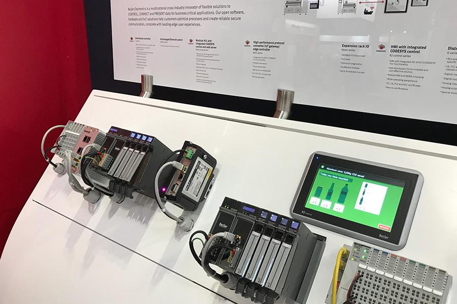 Tecnologia Altus em feira no Reino Unido