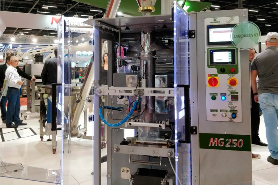 Máquina Indumak na Fispal 2018
