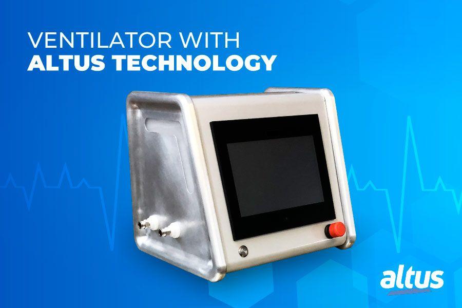 Altus PLCs are used on mechanical ventilators to fight COVID-19