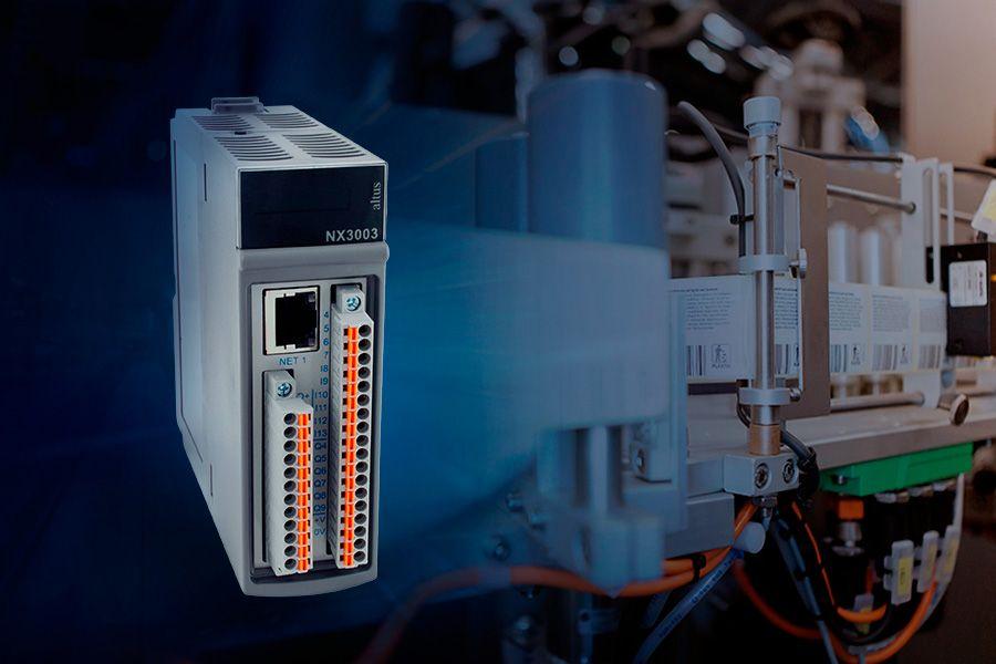 CPU NX3003: mais velocidade e precisão às suas máquinas