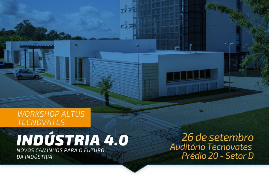 Workshop Altus sobre Industria 4.0 na Univates