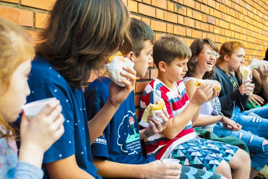 Festa e sorrisos na Casa Auxiliadora