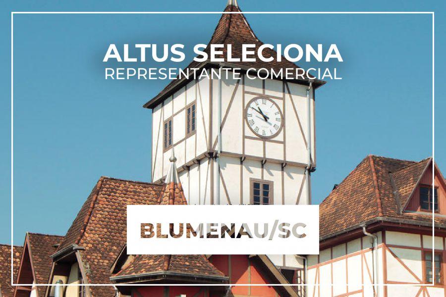 Oportunidade para representação comercial na região de Blumenau/SC