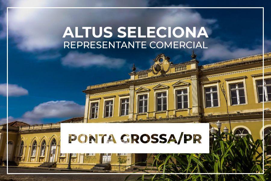 Oportunidade para representação comercial na região de Ponta Grossa/PR
