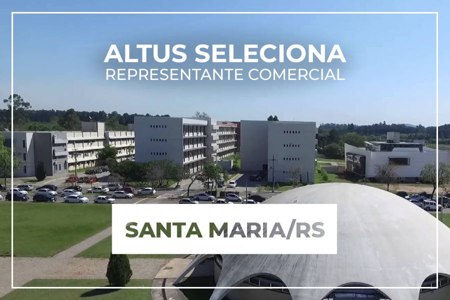 Oportunidade para representação comercial na região de Santa Maria/RS