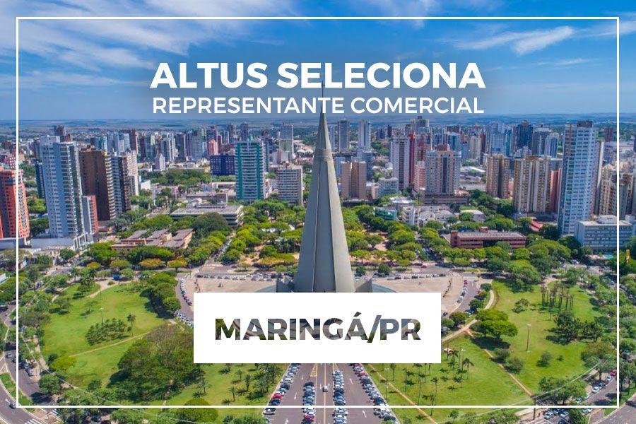 Oportunidade para representação comercial na região de Maringá/PR
