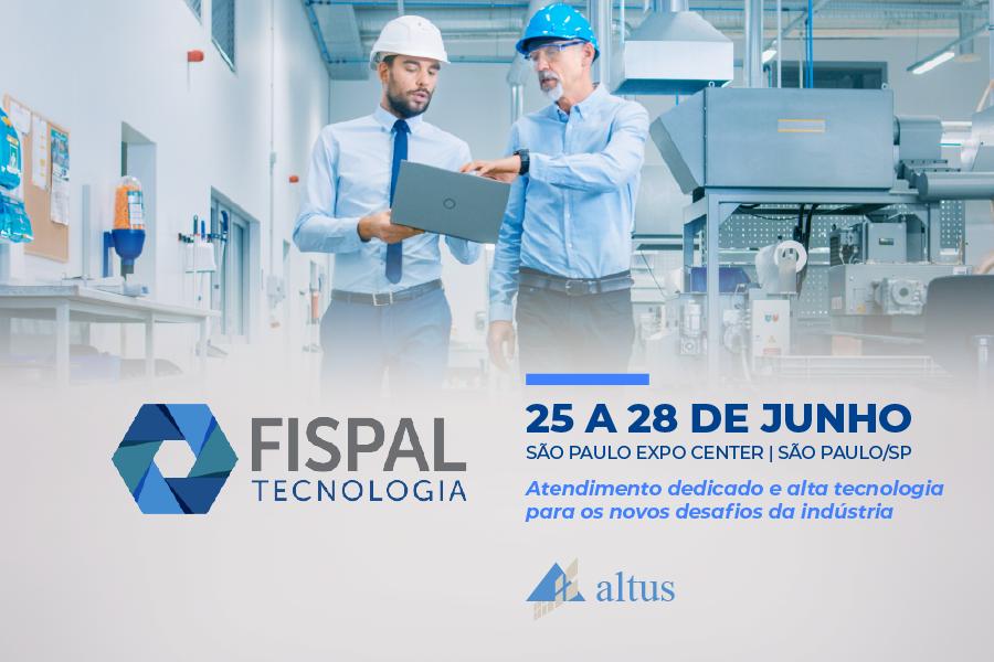 Venha nos visitar na Fispal Tecnologia 2019