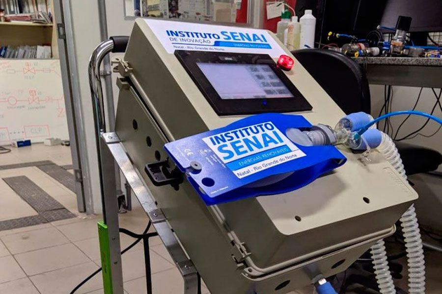 Altus e Senai-RN desenvolvem respiradores mecânicos para combate à COVID-19