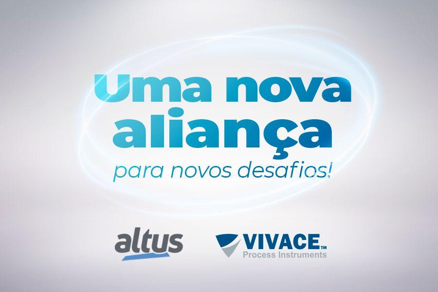 Altus formaliza parceria tecnológica com Vivace Process Instruments