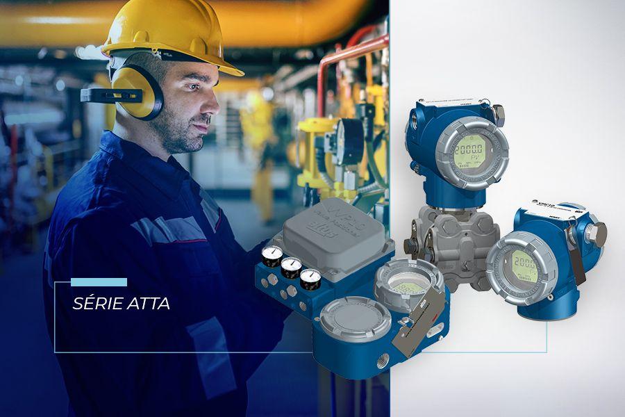 Conheça a Série Atta, nova solução de instrumentos HART® da Altus