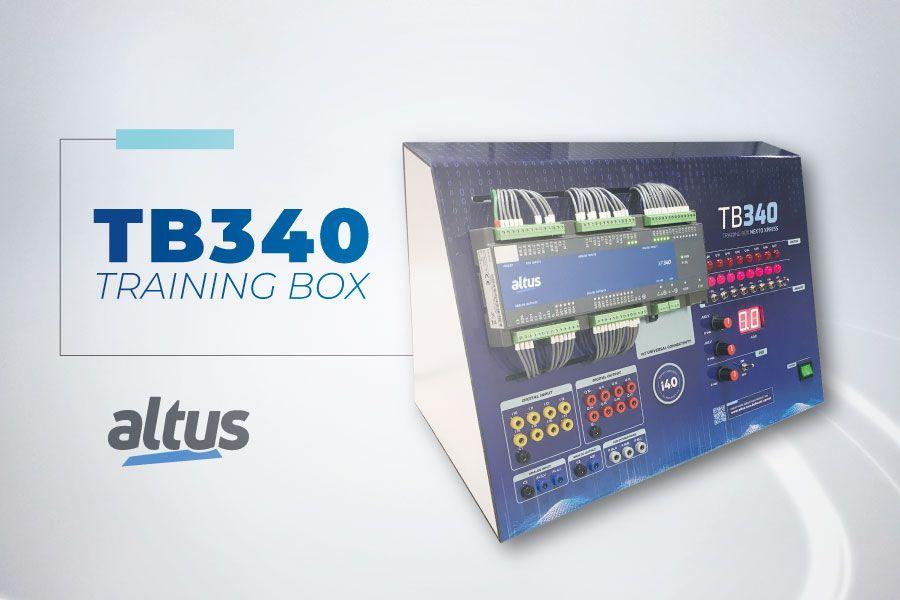 Conheça a TB340, nova maleta para treinamento e capacitação técnica da Altus