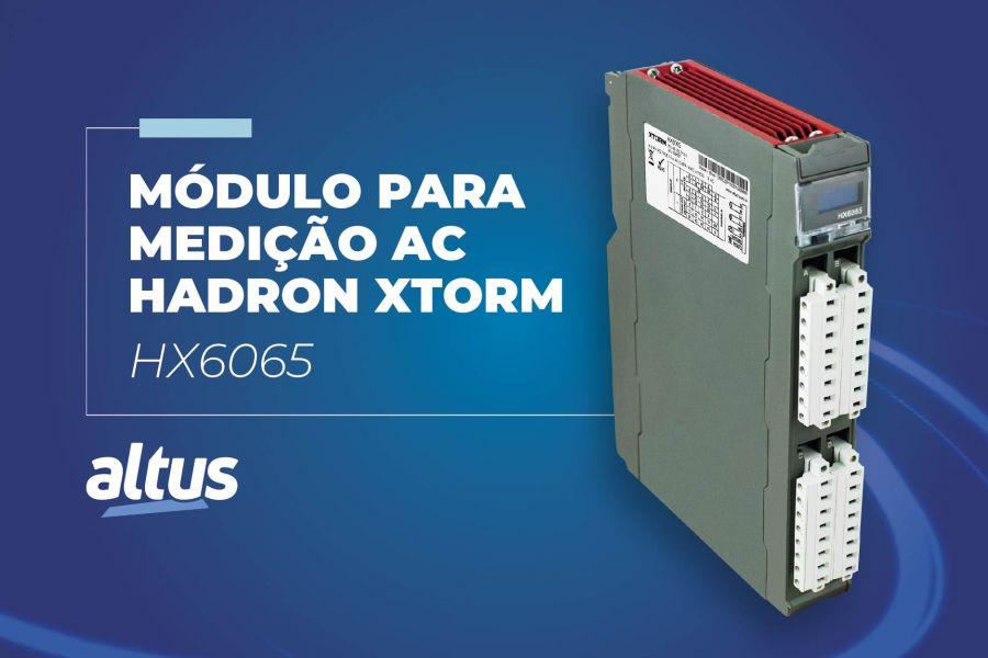 Conheça o HX6065, novo módulo de medição AC da Série Hadron Xtorm
