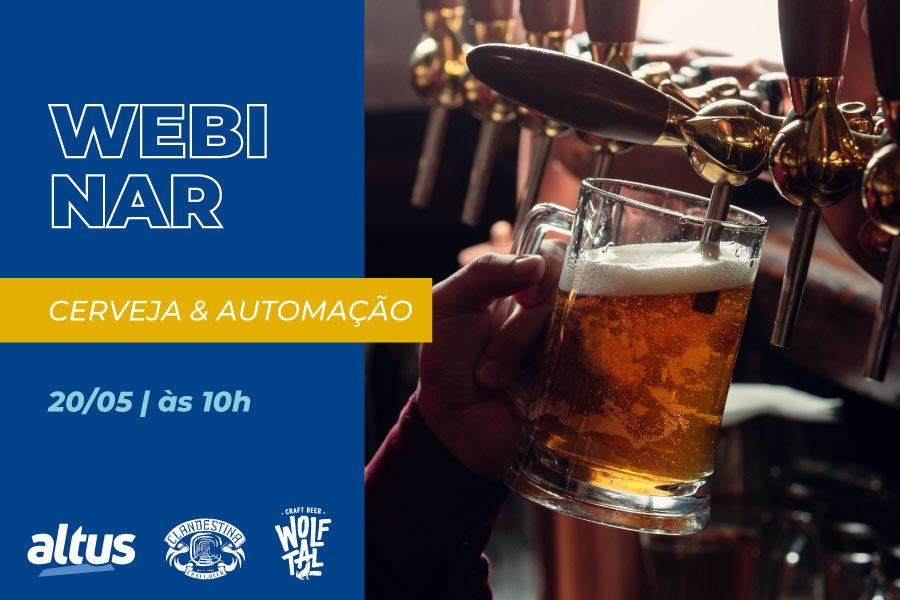 Webinar Cerveja & Automação