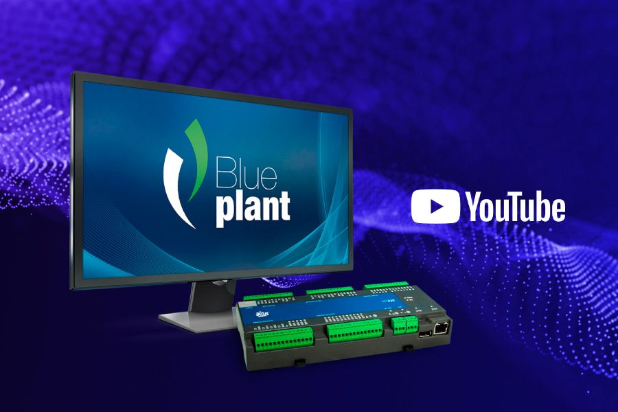 Vídeos tutorias CLP Nexto Xpress e SCADA BluePlant