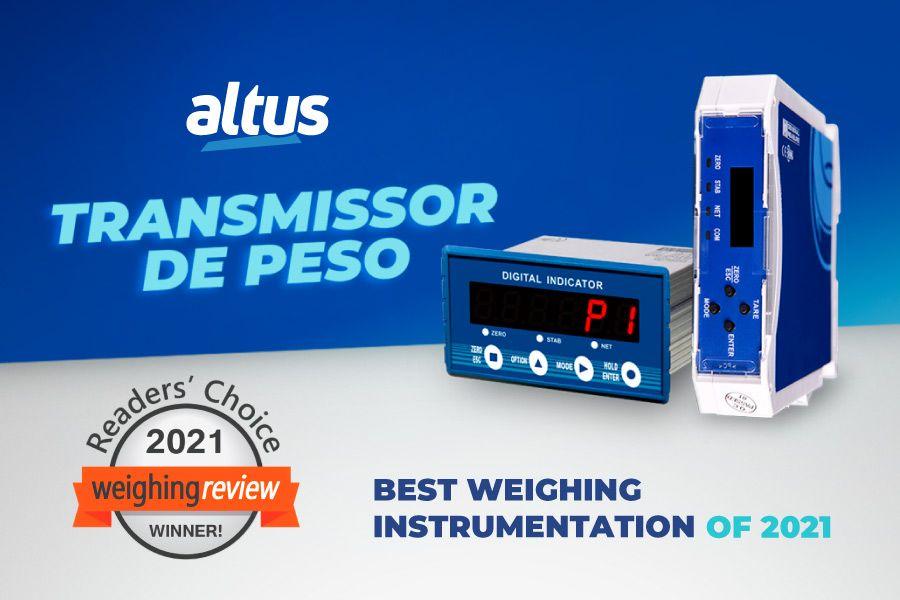 Indicador de peso da Altus recebe prêmio internacional