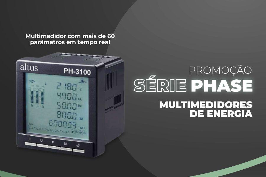 Promoção Multimedidores Phase: consumo energético inteligente