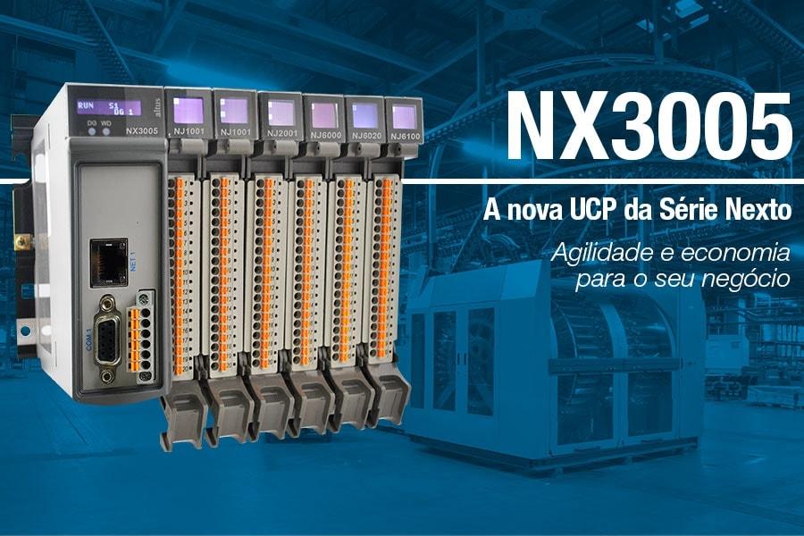 NX3005: a nova solução Altus para aplicações de pequeno e médio porte