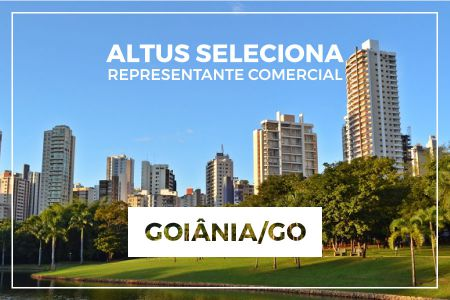 Oportunidade para representação comercial na região de Goiânia/GO