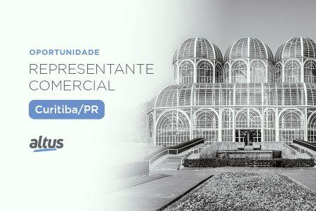 Oportunidade para representação comercial na região de Curitiba/PR