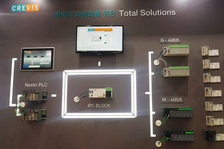 Tecnologia dos produtos Altus em feira na Coreia do Sul