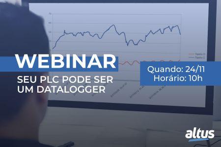 Webinar Seu PLC pode ser um DataLogger