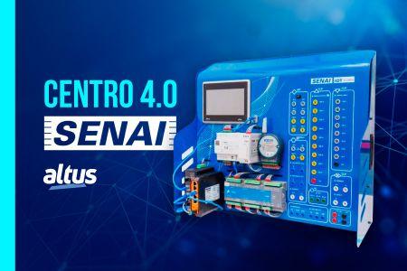 Centro 4.0 do SENAI utiliza tecnologia Altus para capacitação de alunos e jovens profissionais