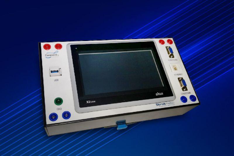 Imagem 80 - Bancadas didáticas do SENAI utilizam a tecnologia do CLP Nexto Xpress